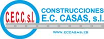 Construcciones EC Casas Logo